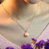 artificial plants singapore - JPF noble temperament Korean fashion female silver pearl necklace jewelry chain artificial clavicle