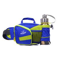 Wholesale 6 Colors Outdoor Waterproof Waist Bag Sport Bag Mountaineering Unisex Women Men Shoulder Waist Packs Nylon Lovers Bags MWP020