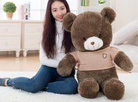 Wholesale Plush Toy Girl Teddy Bear m Bear doll queen doll Panda Pillow doll birthday gift