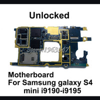 Wholesale Original Unlocked For Samsung galaxy S4 mini i9190 i9195 motherboard working mainboard with software logic system board
