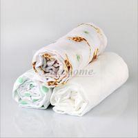 baby blue bedding - Kids Muslin Swaddle Cotton Wrap Baby Blankets Newborn Bath Towel Nursery Bedding Infant Muslin Swadding Parisarc Robes Summer Quilt B472