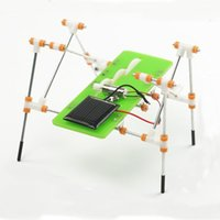 Wholesale Novelty Gag Toys Solar Toys New Version funny DIY Puzzle Toys Educational Toys Solar Quadruped Robot