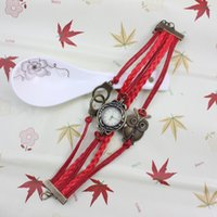 Wholesale Sailor Bracelets Wholesale - 2016 European and American sailors infinite variety of the latest retro stitching woven bracelets mixed batch of lightning delivery