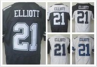 Wholesale 2016 Draft Ezekiel Elliott Jerseys Cowboys blue white thanksgiving day Jerseys for Men Mix Order