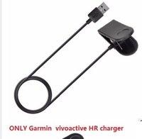 Wholesale DHL free pc V MA garm1n vivoactive HR charger Garm1n charger for vivoactive HR tracker Data cable clip