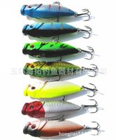 artificial surfaces - 6cm g Surface wave Fishing Baits Bionic Lures Chubby Minnow fishing lures fishing tackle Fishing Lure Hooks Hard Bait Artificial Bait