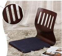 Wholesale Japanese Living Room Furniture Floor Tatami Zasiu Legless Chair Meditation Backrest Chair Design