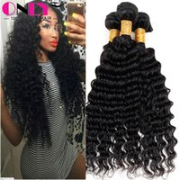 Wholesale Highest Quality Brazilian Remy Deep Wave Hair Extensions Only Hair Products Brazilian Unprocessed Virgin Beauty Hair Curly Bundles Weave