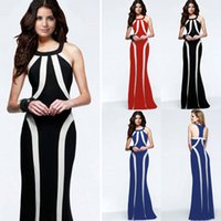 free halter neck maxi dress pattern
