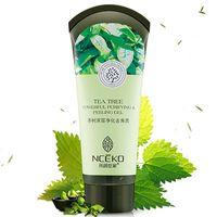 Ace Facial Scrubs Polvos Tea Tree Potente Purificante Exfoliator Peeling Gel Anti-Acné Deep Clean Balance Aceite Blanqueador Húmedo Hidratante ...