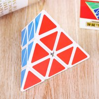 Wholesale Fashion Magico Pyramid Shaped Cube For Children Twist Puzzle Shaped Cube