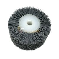 Wholesale Dia mm Abrasives DuPont Wire Wheel P180 Woodworking Polishing Wheel Bench Grinder Tool