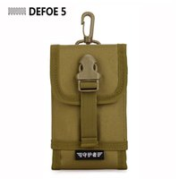 Wholesale 2015 Men s Molle Outdoor Mobile Phone Bag Set Mini Waist Pack Tool Pack Accessory Tactical Small CigarettePackagingSizelarge2015