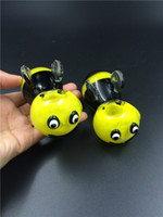 bee types pictures - 2016 Manufacturer smoking glass pipes new design picture hand pipes glass smoking pipe hand pipes yellow bee glass pipes bubblers inches