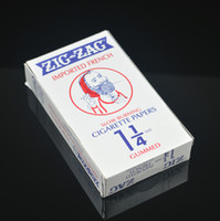 Cheap 24 booklets box cigarette rolling paper machine size 78mm*44mm 32leaves booklet smoking Natural Paper 1 1 4 Size