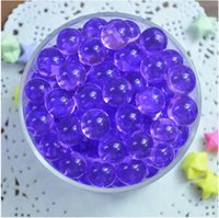 Wholesale 100lots Bags Jelly Crystal Mud Soil Water Beads Flower Plant Magic Ball g bag jy417