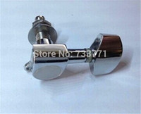 Wholesale Chrome R L Locking Guitar Tuning Pegs String Tuner Machine Heads For ACOUSTIC Guitar