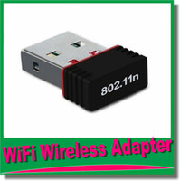 Wholesale High quality Mbps M Mini USB WiFi Wireless Adapter Network LAN Card n g b GHz DHL OM CH5
