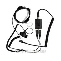 air details - NEW Details about Military Police Throat Mic Air Tube Headset for baofeng UV R Plus S S S