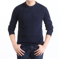 Wholesale new High quality Brands New Winter Men s O Neck Cotton Sweater Jumpers pullover sweaters mens brand