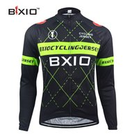 bicycles clothing - BXIO Winter Thermal Fleece Cycling Jersey Only Pro Bike Jersey Warm Long Sleeves Autumn Bicycle Clothing Maillot Ciclismo BX HG018P