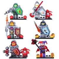 Wholesale New Nexo Knights Future Knight Castle Warrior Minifigures Building Block sets Figures Bricks Toys Chilren Gift