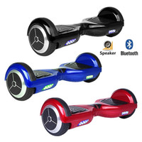 Wholesale UL2272 Global Unique inch APP Cellphone Controlled Electric Balance Scooter Wheel Hoverboard Skateboard Kick Scooter Bluetooth and LED