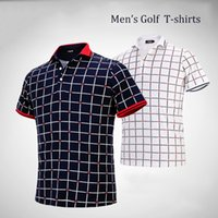 Wholesale S041 Men s Golf Clothing Short Sleeve T shirt Sweat absorbent and Quick drying
