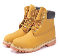 timberland boots - Hot Sell Fashion brand Timberlands boots men Breathable ankle Brown safety work shoes vintage shoes mens casual boots
