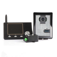 Wholesale Digital Wireless Inch Video Door Phone Doorbell Intercom System Home Security IR Camera Monitor