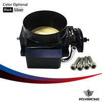 Wholesale PQY RACING NEW THROTTLE BODY FOR MM FOR GM GEN III LS1 LS2 LS6 THROTTLE BODY LS3 LS LS7 SX LS BOLT CABLE PQY6937