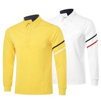 Wholesale New fashionable Brand Golf clothes Long sleeve Golf T shirt colors S XXL size inchoice for sport Wear