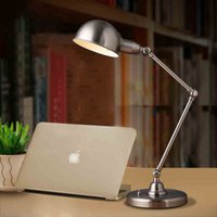 Wholesale Hot sell Modern minimalist fashion Nordic IKEA office bedroom study desk lamp work lamp table lamps Indoor Lighting