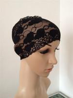 Wholesale Brand new high quality multi color lace muslim head scarf muslim scarf women muslim headscarves