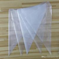 Wholesale 100pcs set Big Size cm Cream Disposable Pastry Bag Cake Icing Piping Bags DIY Decorating Tools packs