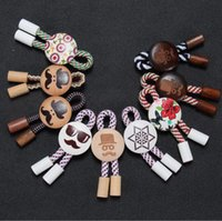 Wholesale Fashion mix color high quality wooden badge restoring ancient ways men suit brooch wedding gift