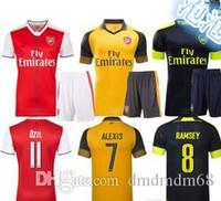 arsenal sleeveless - Top Quality Arsenal jerseys kit Away home RD goalkeeper Jersey WILSHERE OZIL WALCOTT RAMSEY ALEXIS shirt