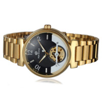 cheap gifts for women - New Arrive Golden Color Wristwatches Auto Mechanical Female Dress Watch Women Gift Cheap dress hats for women