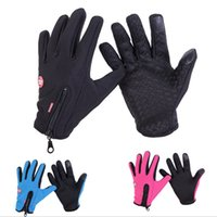 Wholesale pieces Windstopper Gloves Touch Screen Warm Waterpoof Winter Glove Touch Screen Windproof Outdoor Gloves