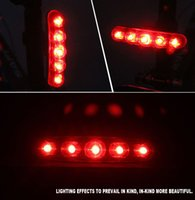 bicycle taillights - Bicycle Five Led Strip Tail Lights Mountain Road Bike Taillights At Night Laser Safety Warning Taillights