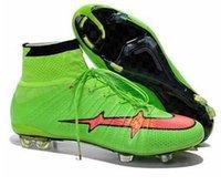 Wholesale 2015 New Hot Sale Men s Mercurial Superfly FG CR7 Shoes Soccer Boots Cleats Laser Men shoes Soccer Shoes Football Shoes