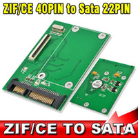 ata to esata - CE ZIF Pin quot SSD to SATA Pin ATA HDD Hard Disk Drive Adapter Converter with Tracking number