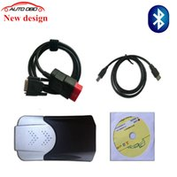Cheap Wholesale-2016 New design 2015.R1 software dvd function same as mvd TCS CDP pro with Bluetooth new vci cdp PRO COM CARs TRUCKs scan tools
