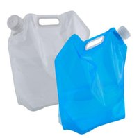 Wholesale L Foldable Water Bag Storage Hand Lifting Hiking Survival Bottle