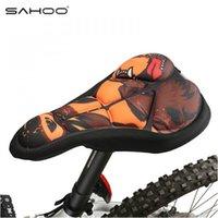 SAHOO 3 Colores Nuevo Moutain / Road Breathe Freely Ciclismo Silla de Bicicleta Cómodo Cojín de Almohadilla Soft Pad Cojín de Asiento de Bicicleta