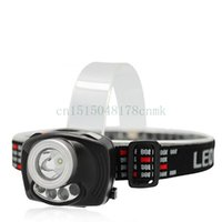 Wholesale 2016 New production Induction LED Headlamp with Ordinary switch and Induction switch DX
