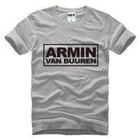 armin van buuren - WISHCART MC DJ Armin Van Buuren hip hop Men s T Shirt T Shirt For Men New Short Sleeve Cotton Casual Top Tee Camisetas Masculina
