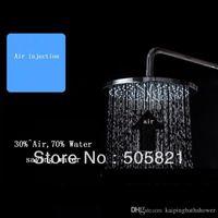 air pressurized water - rain shower high pressure water saving rain shower inches air pressurized round rain shower
