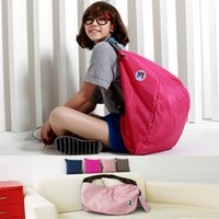 Wholesale New fashion multifunction folded travel housing bags double shoulders Backpack Shoulder storage bags