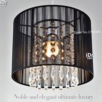 Wholesale handmade Modern K9 crystal Chandeliers minimalist fashion hanging lamp living room lighting restaurant light